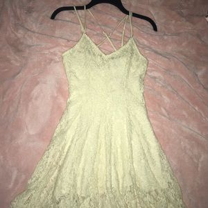 American Eagle White Lace Dress NEVER WORN